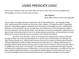 Rich Chapter 5 Predicate Logic