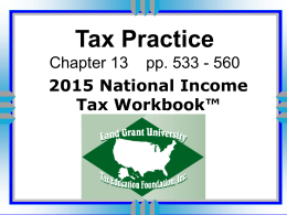 Ch 13 Tax Practice