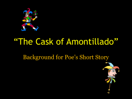 The Cask of Amontillado (1)