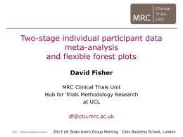 Introduction to IPD meta-analysis