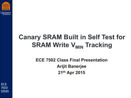 ArijitBanerjee_ECE7502S15_Presentation