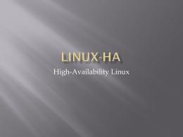 Linux-HA