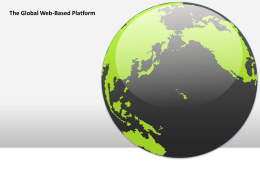 The Global Web-Based Platform