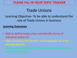 Trade Unions improved File
