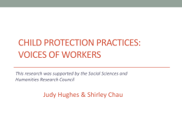 Child Protection Practices