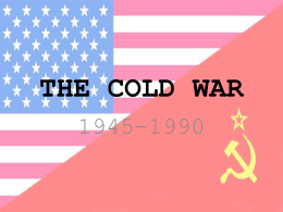Ending the Cold War