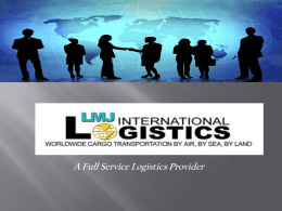 Airfreight Services - LMJ International Logistics