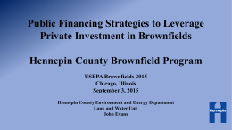 Hennepin County - Brownfields 2015