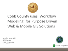 workflow - the Atlanta Regional Commission