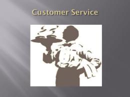 service basics