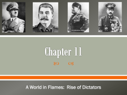 Chapter 11 - A World In Flames