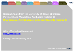 Catalog 2 Version - Office of Technology Management