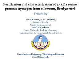 Present by Mr.M.Kannan, M.Sc., PGDEG Doctoral Research Scholar