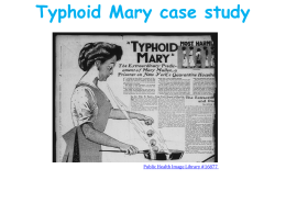 S1. Typhoid Mary-Powerpoint presentation