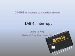 LAB 3 Timer Interrupt and ADC