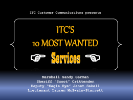 ITCTop10Services - Software Documentation and Manuals