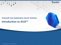 Java Application Server Overview - Technet