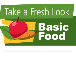 Basic Food Eligibility PPT