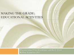 Educational Activities - Department of Economic Opportunity