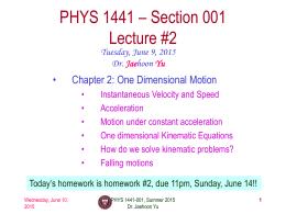 phys1441-summer15