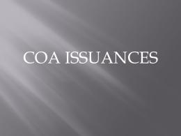 COA Issuances-LGUs