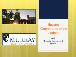 PowerPoint Presentation - Murray State University