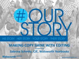 Make Copy Shine by Editing – Lessons 1-3