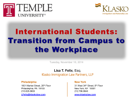 Klasko Immigration Law Partners, LLP