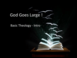 God Goes Large - The Lighthouse Church – New Malden
