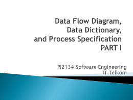 Data Flow Diagrams - Telkom University