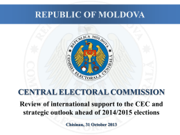 cec strategic priorities for next elections: considerations