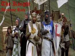 The Knight Adrienne Rich