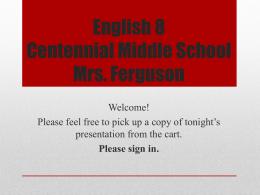 File - Mrs. Ferguson`s Class