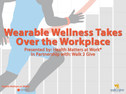Rise of Fitness Trackers in Corporate Wellness