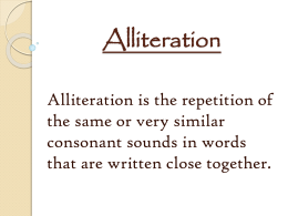Literary Terms PowerPoint File
