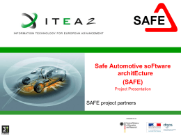 P3_SAFE-Safe_Automotive_soFtware_architEcture