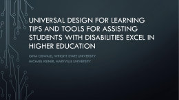 Universal Design for Learning - Blogs at Maryville University