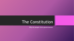 The Constitution - Mater Academy Lakes High School