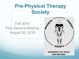 File - UTSA Pre-Physical Therapy Society