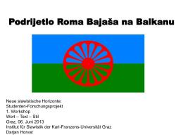 Romi na Balkanu - Karl-Franzens