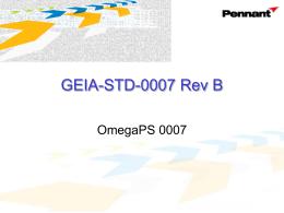 GEIA-STD-0007 Rev. B