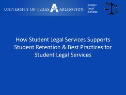 Why College Students Need Lawyers