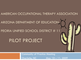 American Occupational Therapy Association Arizona