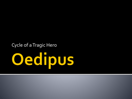 Oedipus tragic hero cycle