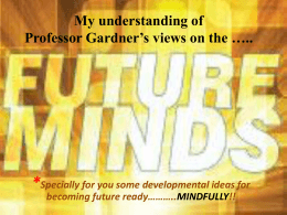 Book Review on Five minds for the future by Yachna Villaitrani