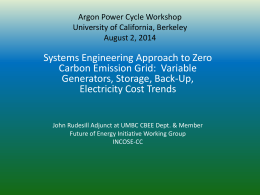 Argon Power Cycle at US Electric grid scale storage