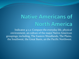 Native Americans of North America PPT