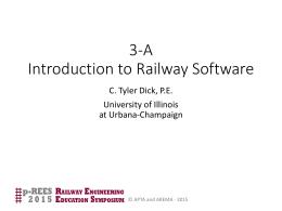 Module 3-A Software
