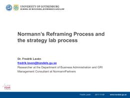 The crane – a tool for reframing business