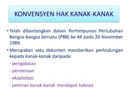 T3_Konvensyen Hak Kanak-Kanak